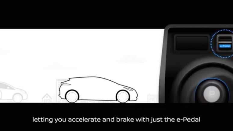Nissan Leaf e-Pedal video teases one-pedal driving