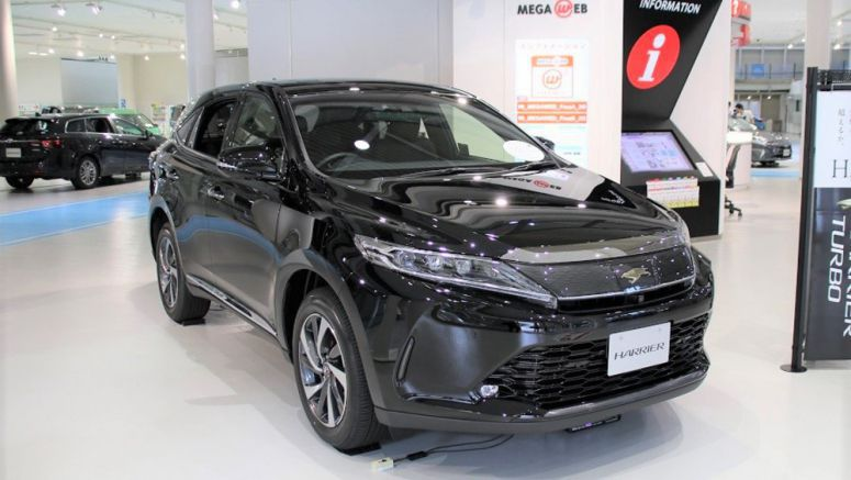 Toyota Adds Turbo Engine Model to 'Harrier' SUV