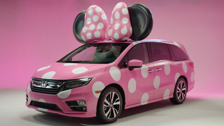 Honda Goes Fashion Forward with Debut Display of One-of-a-Kind MINNIE VAN