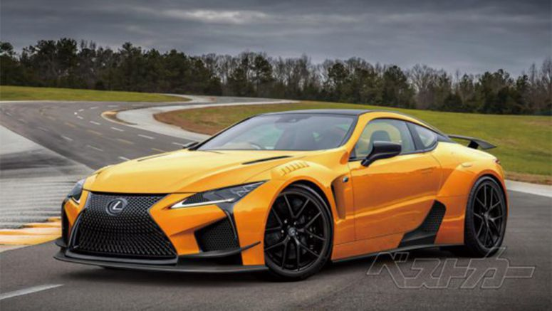 Lexus LC F to Debut in 2019 with 600 Horsepower?