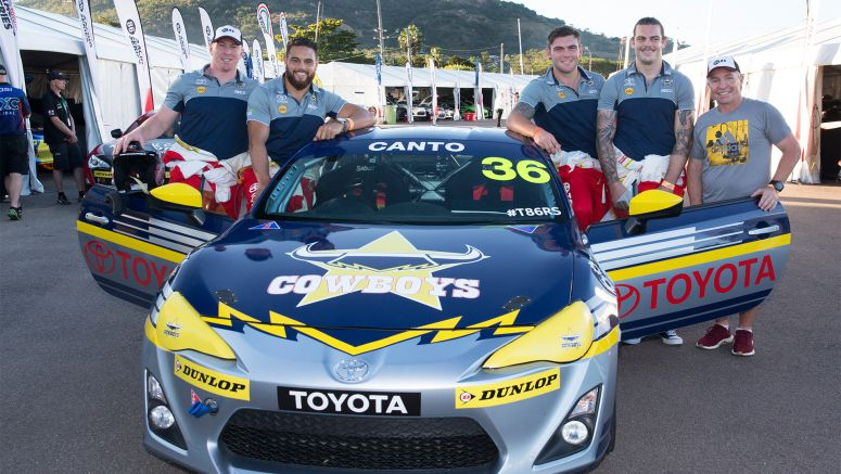 Toyota Extends Partnership with North Queensland Cowboys