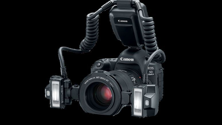 Canon introduces Macro Twin-Lite MT-26EX-RT