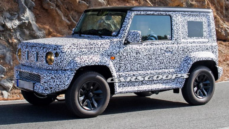 Suzuki Jimny Replacement Spotted On Public Roads For The First Time
