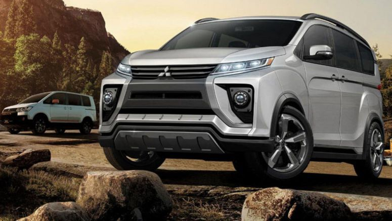 New Mitsubishi Delica Concept Leaks Before Tokyo Motor Show