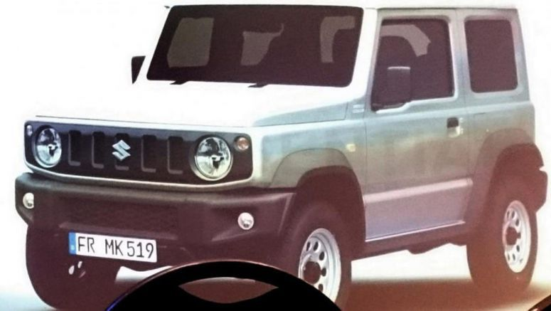 2019 Suzuki Jimny Leaks Looking Oh-So Familiar