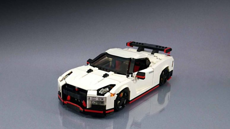 Lego Fan Builds Awesome Nissan GT-R Nismo Replica