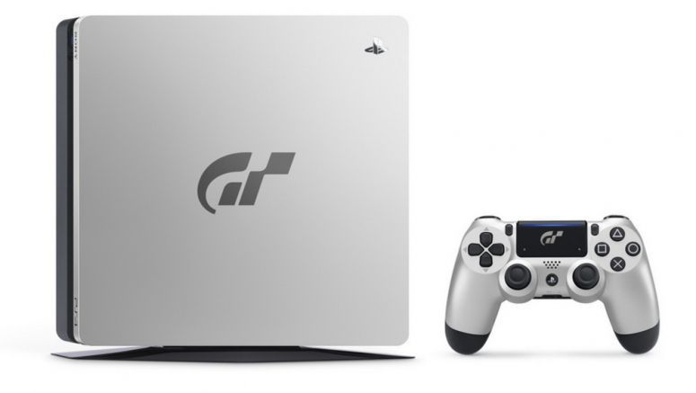 Sony Reveals Limited Gran Turismo Sport-Themed PS4 Console