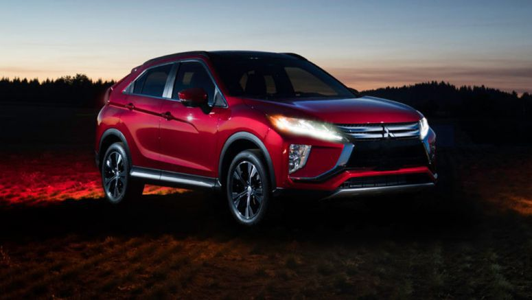 Mitsubishi Eclipse Cross Glistens Under Total Solar Eclipse