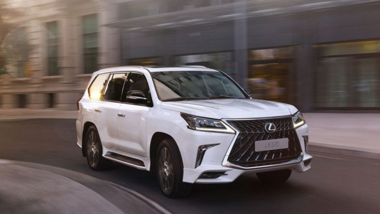 Russia & Middle East to Offer Lexus LX 570 TRD Special Edition