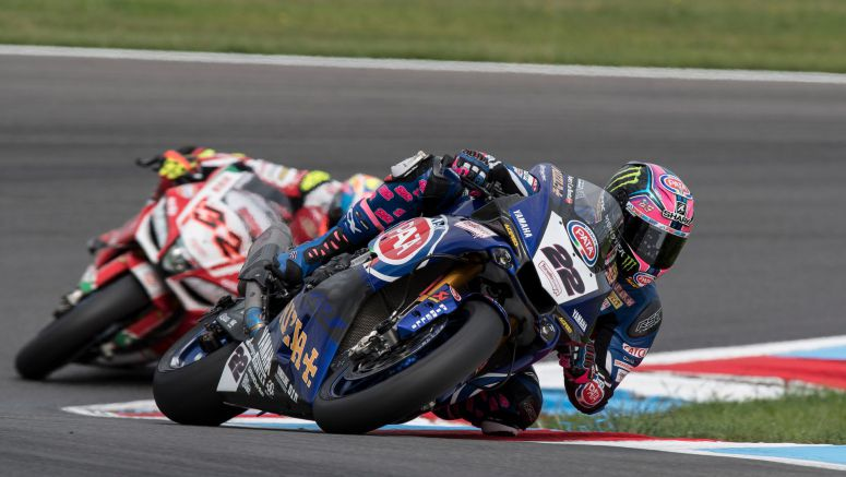 Lowes Charges to Top Six Finish in Race 1 at the Lausitzring