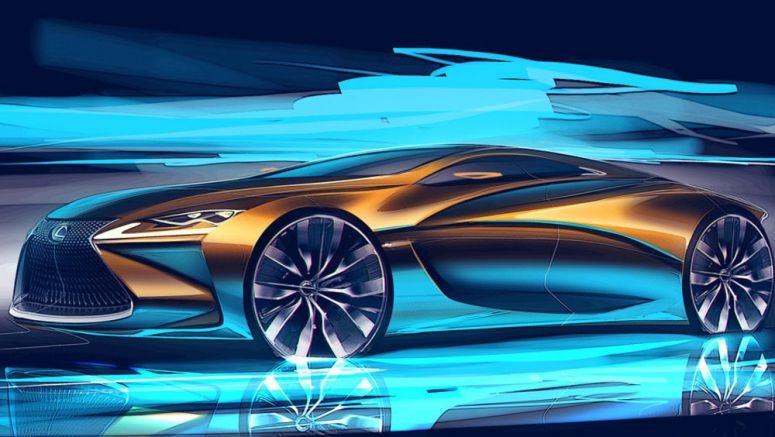 Student Designs Stunning Lexus Coupe Concept