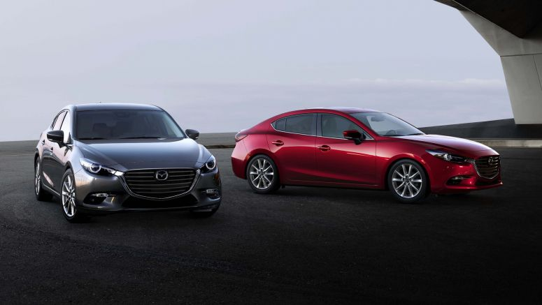 2018 Mazda3 gets low-speed automatic braking across the board