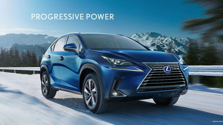Updated 2018 Lexus NX 300 & NX 300h Now on USA Website