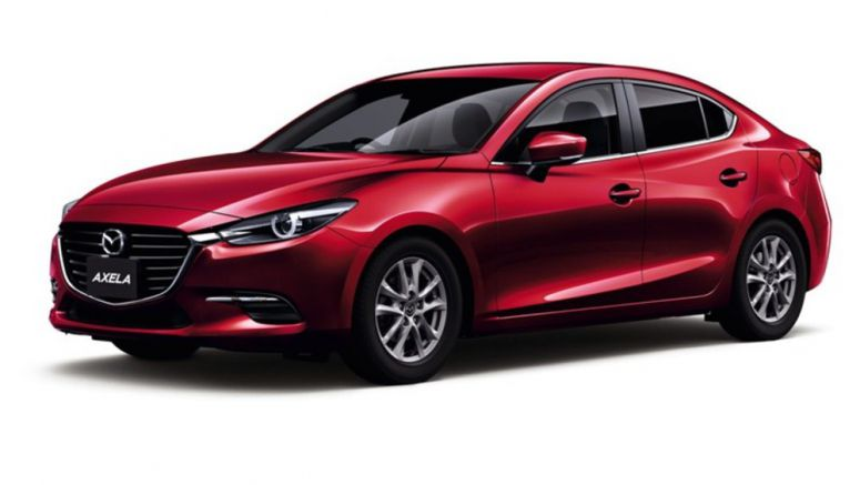 Mazda Equips 'Axela' Compact With Preventive Safety Function