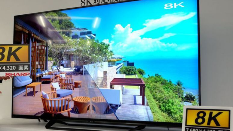 Sharp rushing ahead of rivals to release 8K TVs in China, Japan