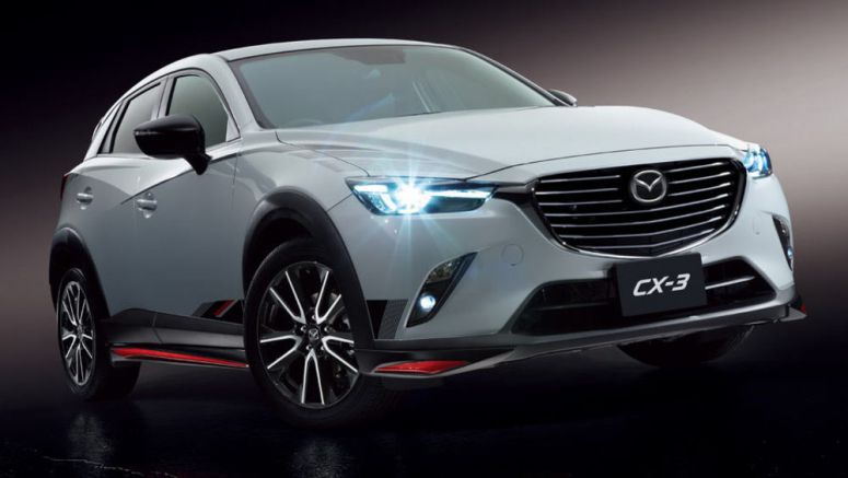 Mazda Presents New Accessory Packs For CX-5 And CX-3