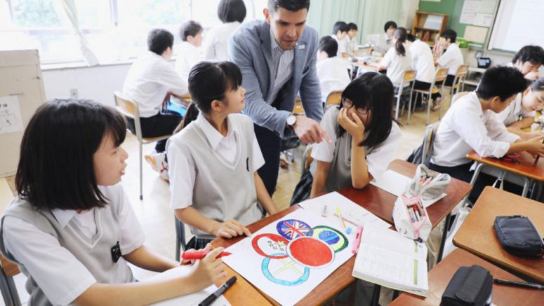 Schools, firms ramp up efforts to train volunteers for 2020 Tokyo Games