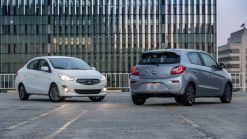 2018 Mitsubishi Mirage And Mirage G4 Gain A 7-Inch Infotainment System