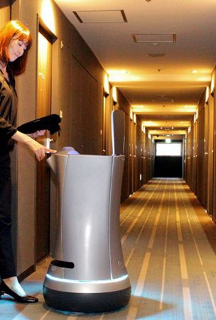 Robot to replace humans for room service at Shinagawa hotel