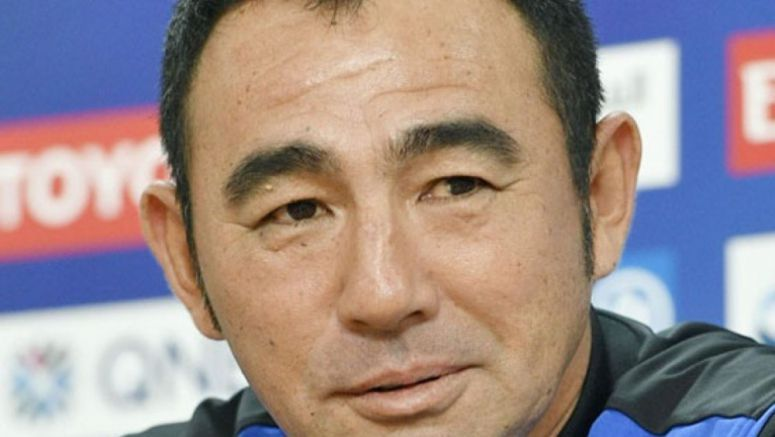 Soccer: Gamba will not extend manager Hasegawa's contract