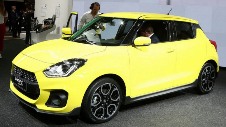 New Suzuki Swift Sport Packs 1.4 Turbo, Weighs Less Than A Tonne