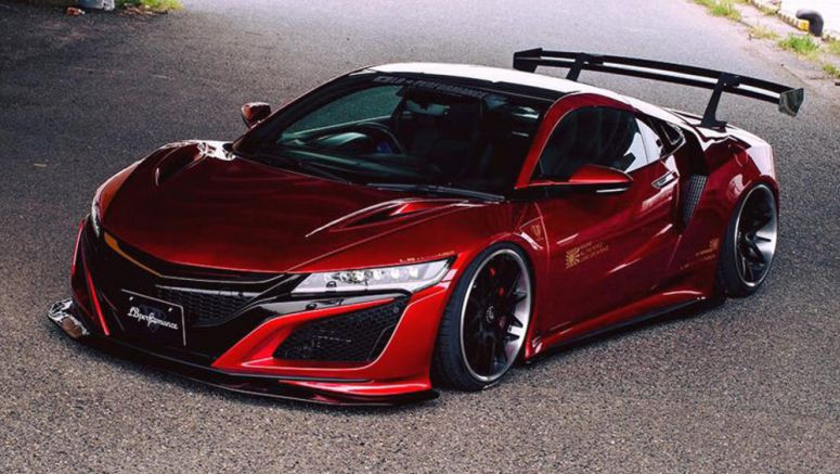 Liberty Walk Transforms Honda NSX With Bold Bodykit