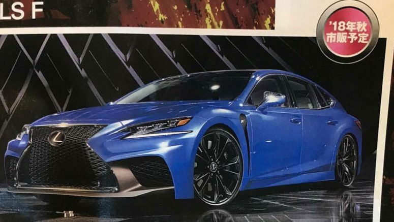 Lexus LS F High-Performance Flagship to Debut at Tokyo Motor Show?