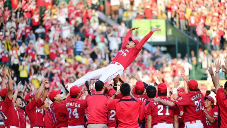Baseball: Big-hitting Carp clinch 8th CL pennant