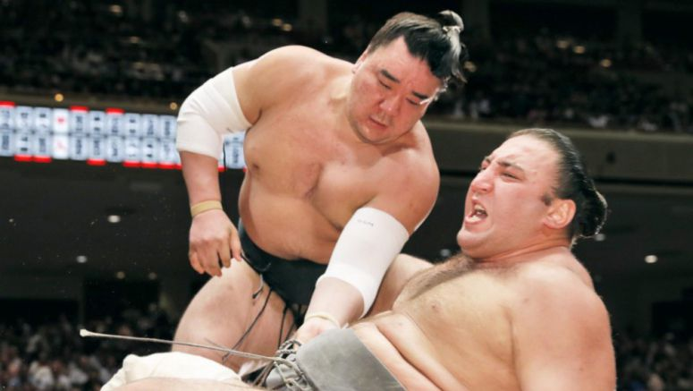 Sumo: Harumafuji 2-0 at Autumn tourney, mixed fates for 3 ozeki