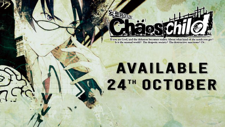 Visual Novel Murder Mystery CHAOS;CHILD Comes to PS4, PS Vita Oct. 24