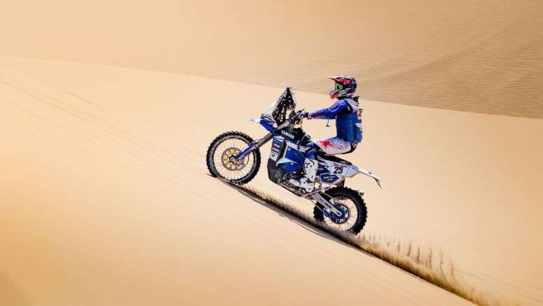 Yamaha In Contention For Overall Victory After Stage Three Of The Baja Inka Rally