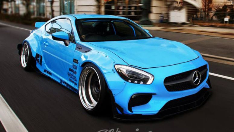 Toyota 86 Gets A Virtual Mercedes-AMG GT S Tune
