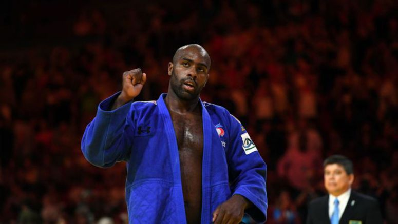 Riner has sights set on 2020 Games