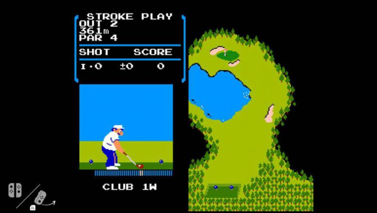 Nintendo Switch Consoles Are Hiding A Copy Of NES 'Golf' Game