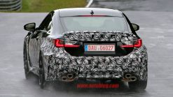 Spy Shots: Camouflaged Lexus RC F Spotted at Nürburgring