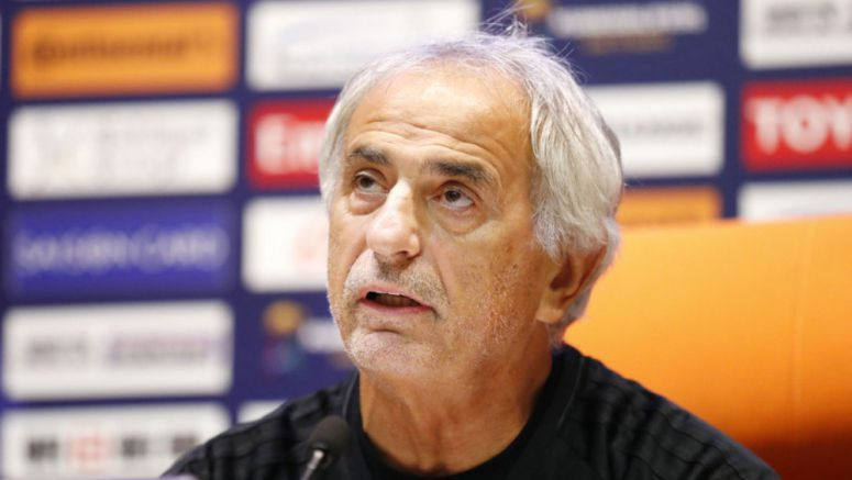 Soccer: Japan boss Halilhodzic calls for winning finish to World Cup q'fying