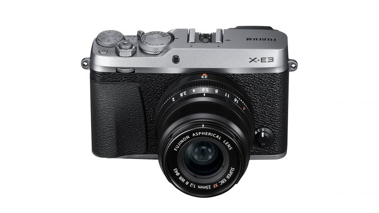Fujifilm X-E3 offers 24MP sensor and extensive touch control