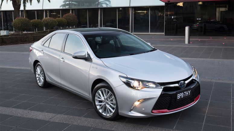 Toyota Releases Commemorative Camry