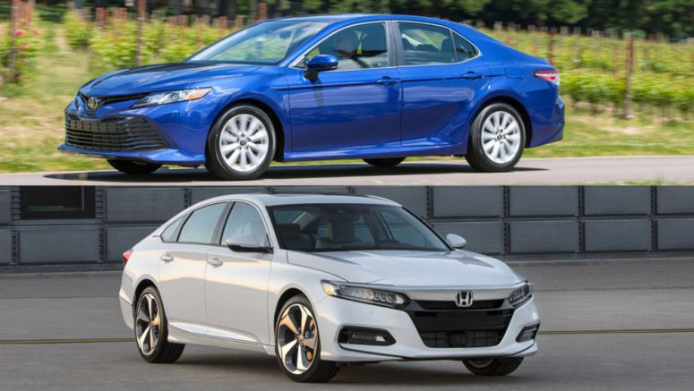 2018 Honda Accord Vs 2018 Toyota Camry: Let The Battle Begin