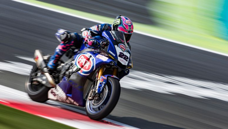 Pata Yamaha Pull Out the Stops in a Wet Race 1 at Magny-Cours