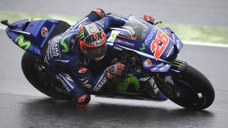 Movistar Yamaha Continue Battle with Elements in First Japanese FP Sessions