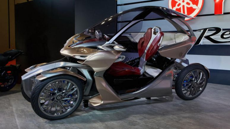 Yamaha MWC-4 Concept Briges The Gap Between Car And Bike