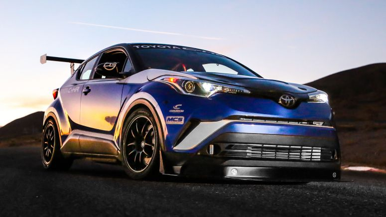 This Toyota C-HR achieves coolness thanks to 600 hp and a manual