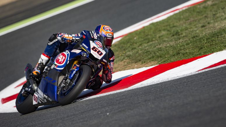 Pata Yamaha Shine in the Sun at Magny-Cours