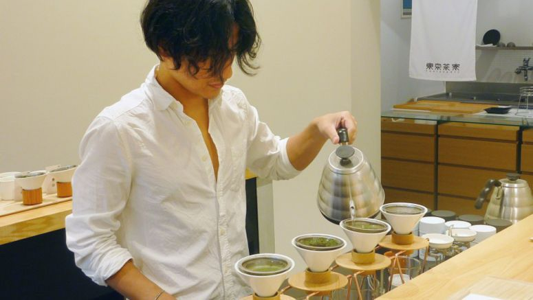 Green tea cafes aim to revive interest in Japan's traditional beverage