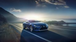 It Took Lexus 15 Years To Develop The New LC Structural Blue Edition's Special Paint