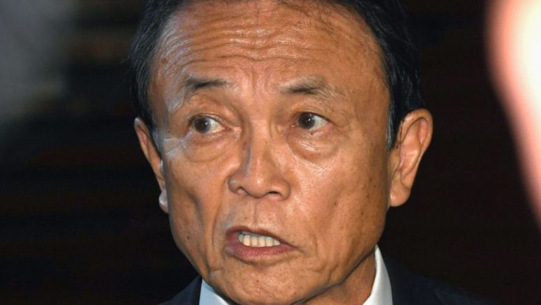 Deputy PM Aso clarifies comments attributing election win to N. Korea