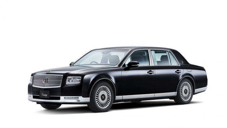 Toyota's new Century flagship loses V12 in favor of hybrid V8