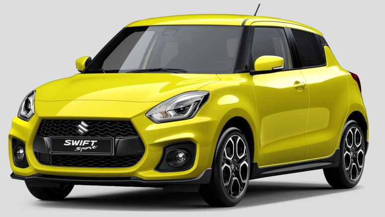 2018 Suzuki Swift Sport in Australia from first quarter