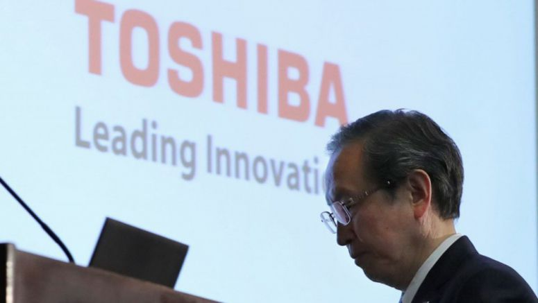 Toshiba seals deal to sell chip unit to Japan-U.S.-S. Korea group